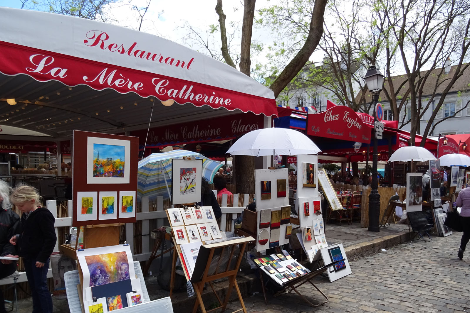 52 Kunstmarkt auf dem Montmartre